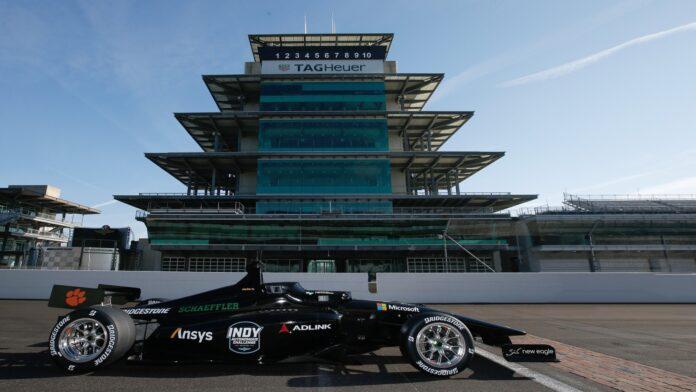 Una Dallara a Guida Autonoma nella Indy Authonomous Challenge