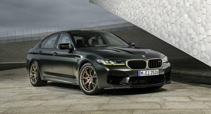 Nuova BMW M5 CS 2022, le Foto in Anteprima Esclusiva