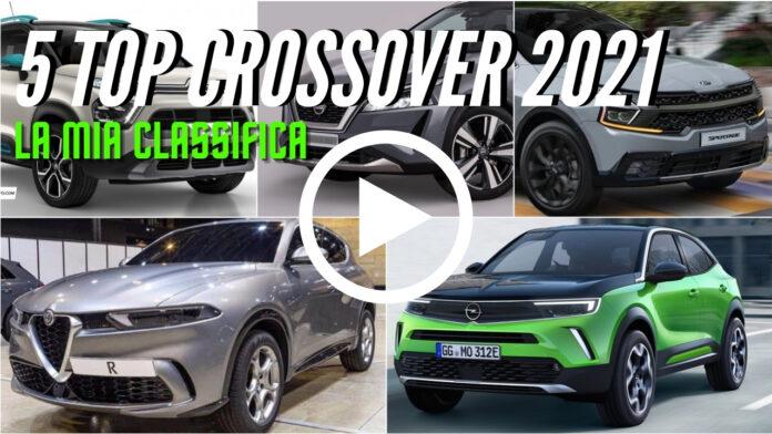 Le 5 novità CROSSOVER del 2021 [VIDEO]