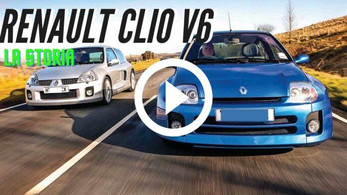 Renault Clio V6 compie 20 Anni| la Storia del MITO [VIDEO]