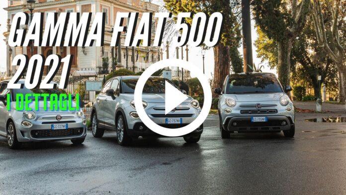 Nuova gamma Fiat 500 2021 Versioni e Dati Tecnici [VIDEO]