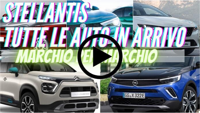Tutte le novità STELLANTIS in ARRIVO   marchio per marchio [VIDEO]