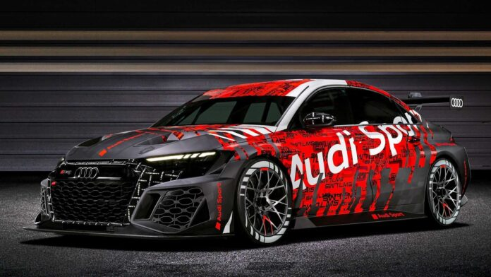 Audi RS3 LMS TCR 2021, la Belva da Pista