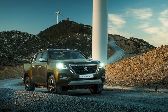 Nuovo Peugeot Landtrek Pickup 2021, pronto per l'Africa