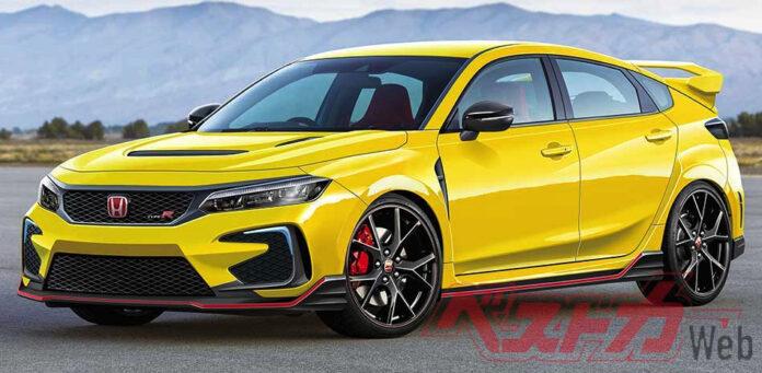 Nuova Honda Civic Type-R 2022, Dati tecnici, Uscita, Rendering