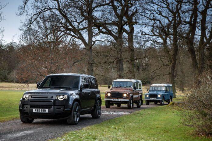Nuova Land Rover Defender V8 2021, in offroad con 525 CV!