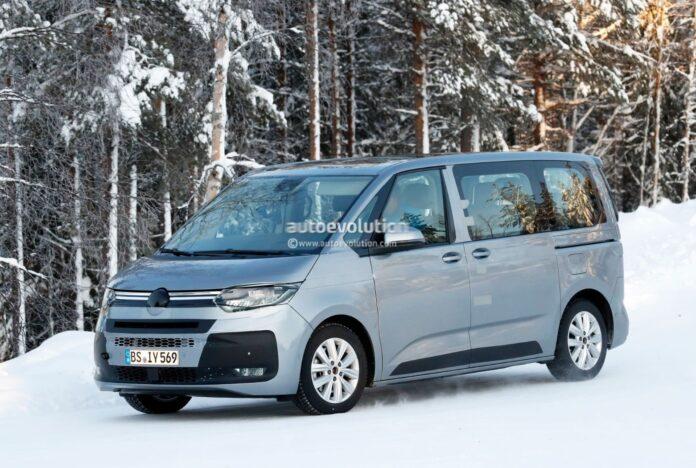 Nuovo Volkswagen Transporter T7 2022, Anticipazioni e Foto