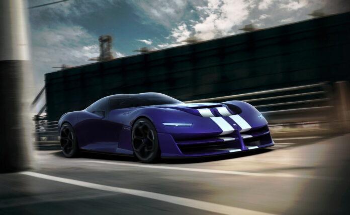 Nuova Dodge Viper 2023, rinasce con Stellantis Rendering