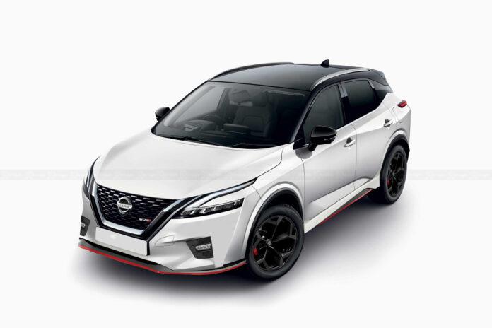 Nuova Nissan Qashqai Nismo 2021, il Rendering della sportiva