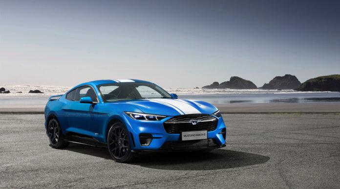 Nuova Ford Mustang 2022, il Rendering della sportiva elettrica