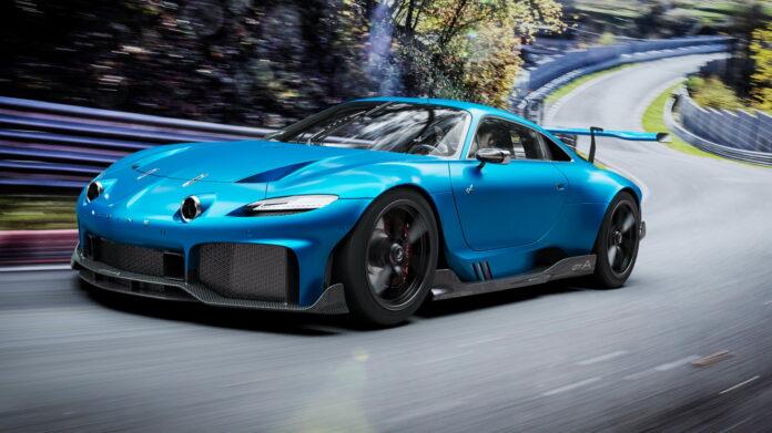 Nuova Alpine GTA 2022, la Sportiva da sogno in Rendering