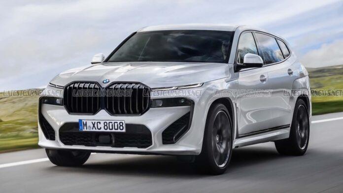 Nuova BMW X8 2022, il SUV più costoso in Rendering