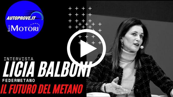 Intervista a Licia Balboni, Presidente di Federmetano [VIDEO]