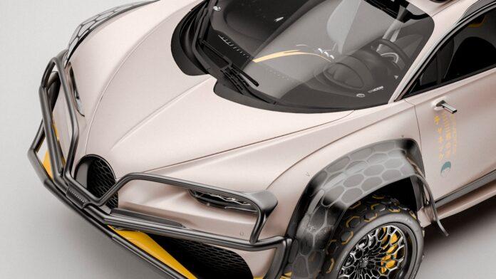 Bugatti Chiron, il Rendering della versione Offroad