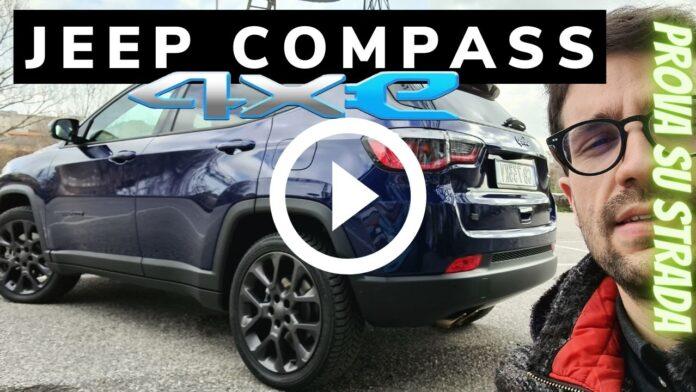Jeep Compass 4xe 240 CV IBRIDA PLUG-IN | Video prova