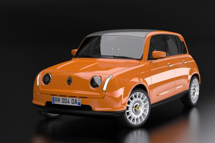 Nuova Renault 4 2023, il Ritorno in Anteprima Rendering