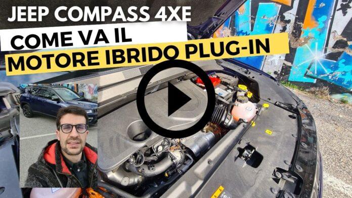 Come va il MOTORE IBRIDO da 240CV di Jeep Compass 4Xe [VIDEO]