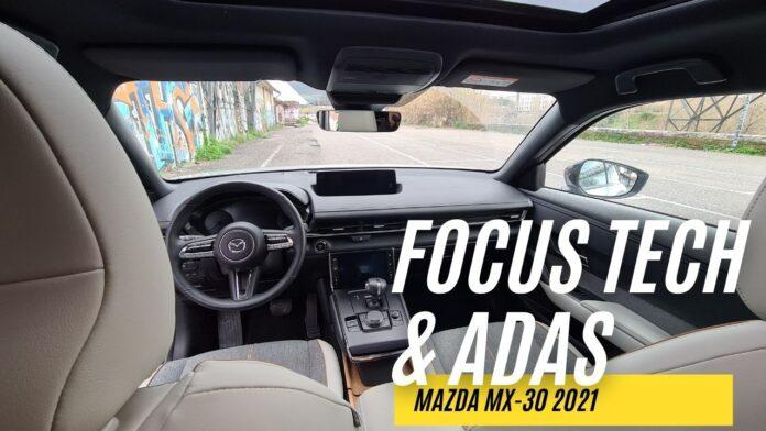 Mazda MX-30 2021, FocusTECH & ADAS [VIDEO]