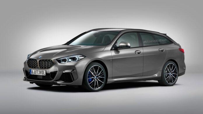 Nuova BMW Serie 2 Grand Coupé Touring 2022, Rendering Esclusivo