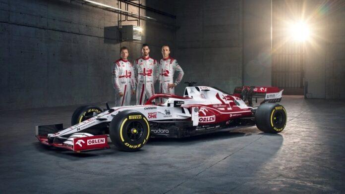 La nuova Alfa Romeo C41, Raikkonen, Giovinazzi, Kubica