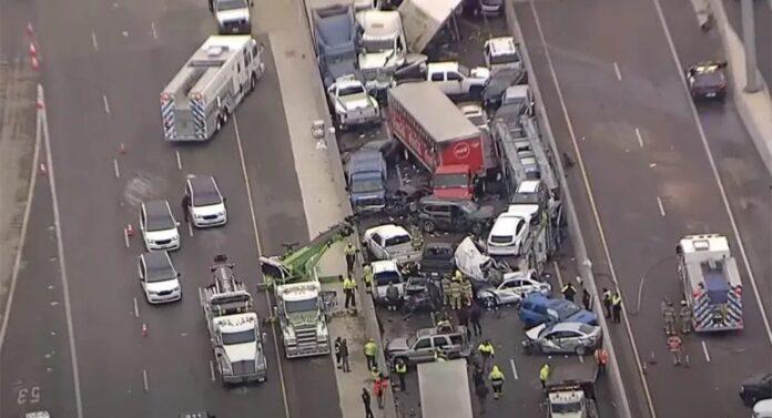 In Texas incidente da oltre 75 mezzi, 4 morti [VIDEO]