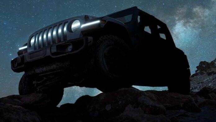 Nuova Jeep Wrangler 2023, sarà anche 100% Elettrica