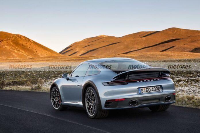 Nuova Porsche 911 Safari 2022, il sogno diventa Rendering