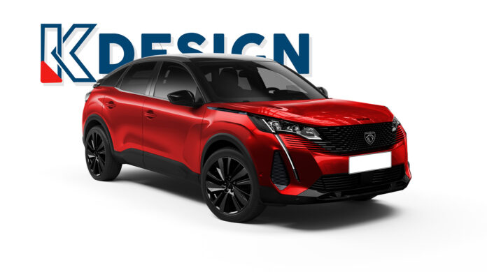 Nuova Peugeot 3008 Coupé 2022, il Rendering in Anteprima