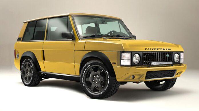 La Range Rover Classica vola nel futuro