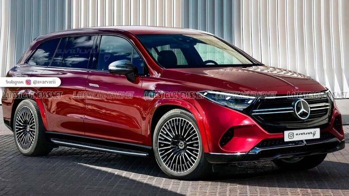 Nuova Mercedes-Benz EQS 2022, il elettrico in Rendering