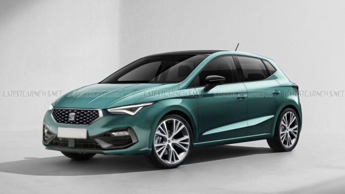 Nuova Seat Ibiza 2022, il Restyling nel rendering esclusivo