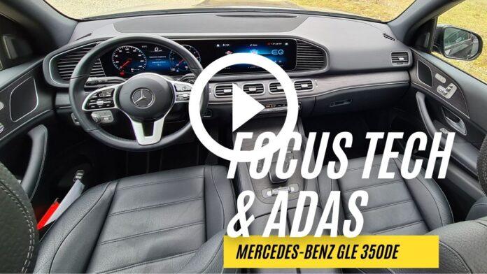 Mercedes-Benz GLE 350de, FOCUS TECH, MBUX, ADAS [VIDEO]