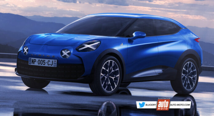 Nuova Alpine SUV 2022, Anteprima Rendering