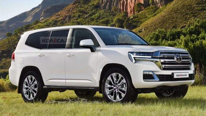 Nuova Toyota Land Cruiser 300 2022, i Rendering in Anteprima
