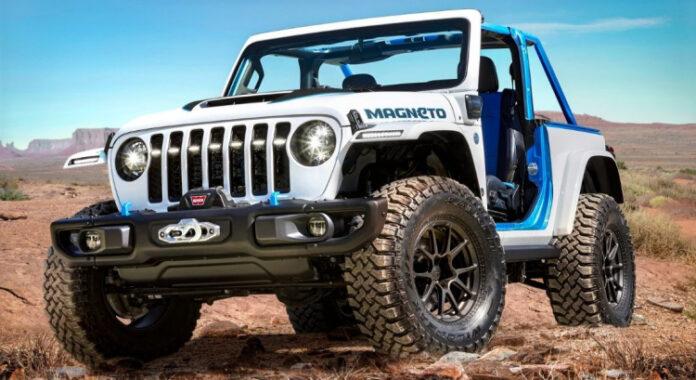 Nuova Jeep Wrangler 2022, arriva la versione 100% elettrica