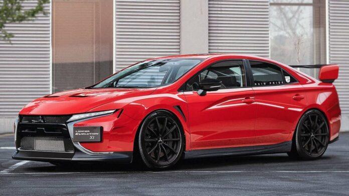Nuova Mitsubishi Lancer Evo XI 2022, il Rendering da Sogno!