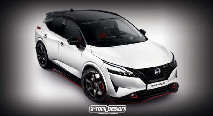Nuova Nissan Qashqai 2022, il Rendering della versione Nismo