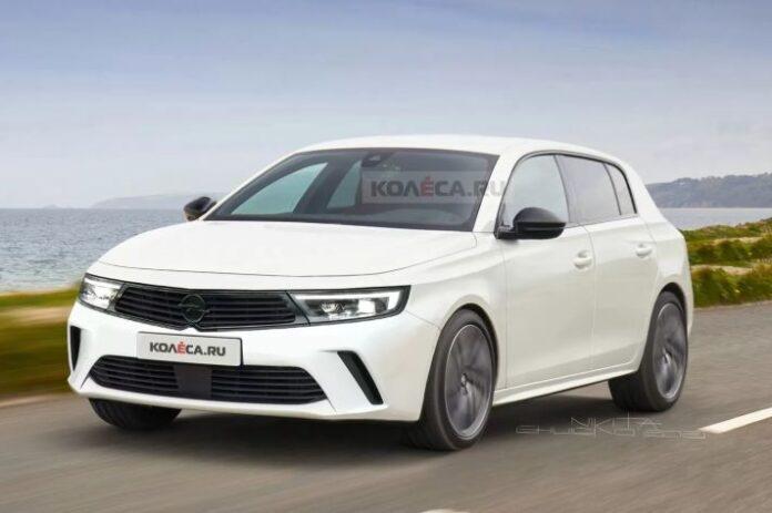 Nuova Opel Astra 2022, il Restyling in Uscita