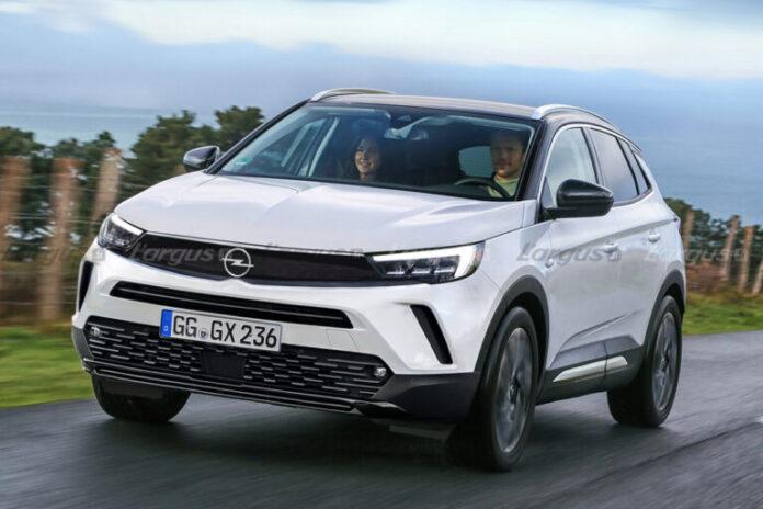 Nuova Opel Grandland 2022, Dettagli e Rendering sul Restyling