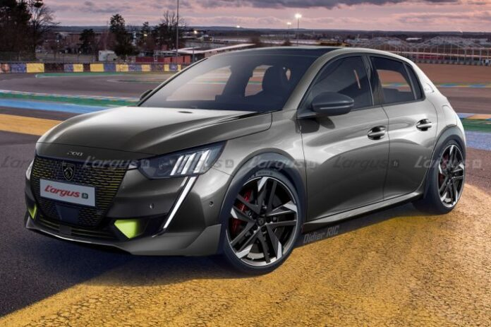 Nuova Peugeot 208 PSE 2022, il restyling in Anteprima Rendering