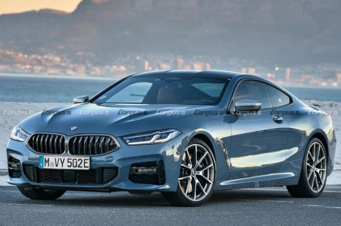 Nuova BMW Serie 8 2022, il Restyling in anteprima Rendering