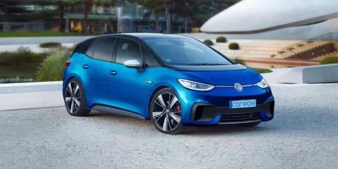 Nuova Volkswagen ID.3 R 2022, elettrica e cattiva | Rendering
