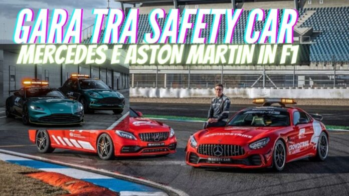 Mercedes-Benz e Aston Martin le nuove SAFETY CAR per la Formula 1 [VIDEO]