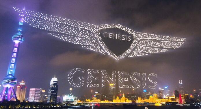 Geneis arriva in Cina, lo Show con 3.281 Droni! [VIDEO]