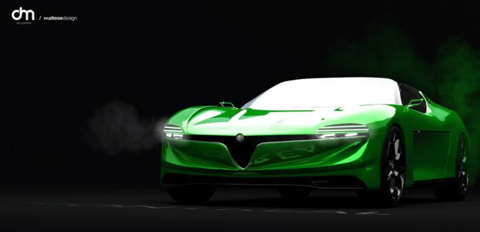 Nuova Alfa Romeo Montreal 2025, il ritorno in Rendering