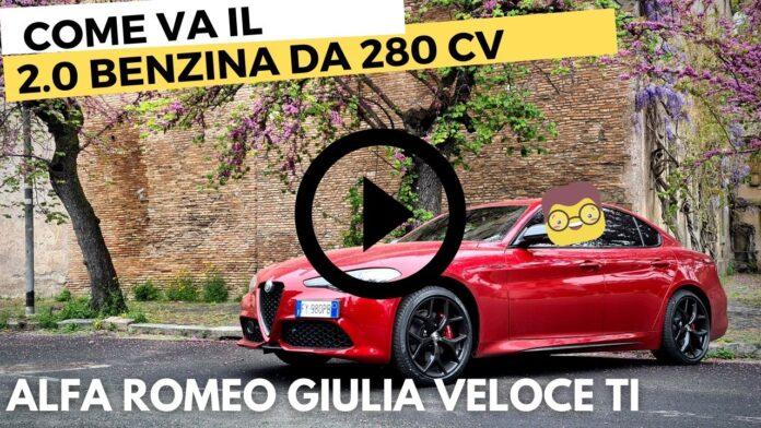 Alfa Romeo Giulia Veloce Ti 280 CV | FOCUS motore [VIDEO]
