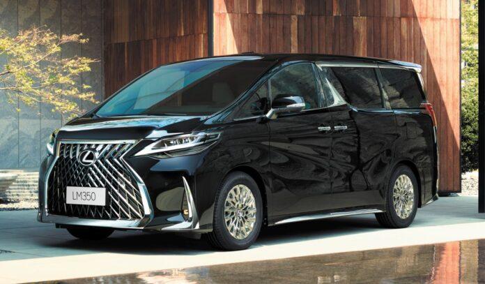Lexus LM 2021, il VAN di lusso per l'Asia