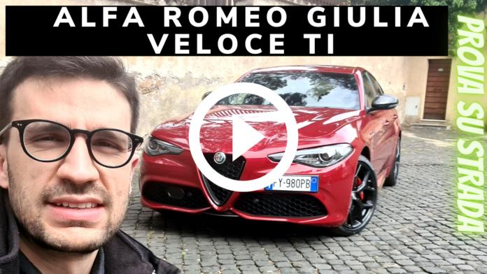 2021 Alfa Romeo Giulia Veloce Ti Q4 2.0 280 CV | Video Prova su strada