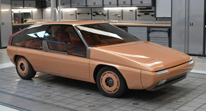 Mazda Italia restaura la MX-81 firmata Bertone