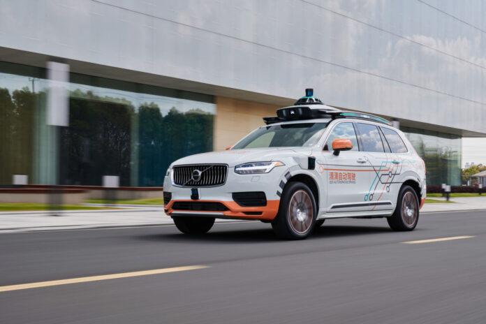 Volvo con Didi nei test a Guida Autonoma